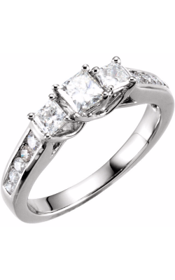 Princess Jewelers Collection Three Stones Engagement Ring 64723 product image