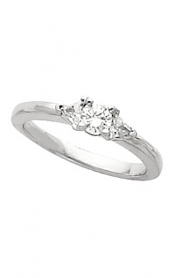 Sharif Essentials Collection Three Stones Engagement Ring 60281 product image