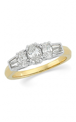 Stuller Three Stone Engagement Ring 63335 product image