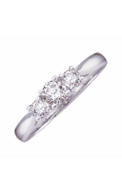 Sharif Essentials Collection Three Stones Engagement Ring 60202 product image