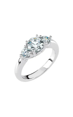 Sharif Essentials Collection Three Stones Engagement Ring 60099 product image