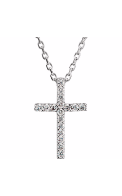 Fashion Jewelry By Mastercraft Religious And Symbolic Necklace R42147D product image
