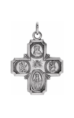Fashion Jewelry By Mastercraft Religious And Symbolic Necklace R5036 product image