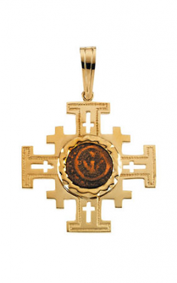 Fashion Jewelry By Mastercraft Religious And Symbolic Necklace R41552 product image