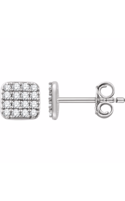 Fashion Jewelry By Mastercraft Diamond Earring 651834 product image