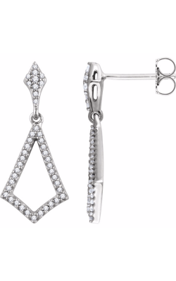 Fashion Jewelry By Mastercraft Diamond Earring 651982 product image
