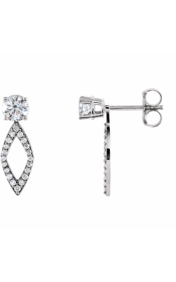 Fashion Jewelry By Mastercraft Diamond Earring 85764 product image