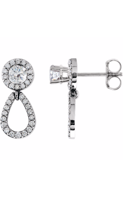 Fashion Jewelry By Mastercraft Diamond Earring 85763 product image