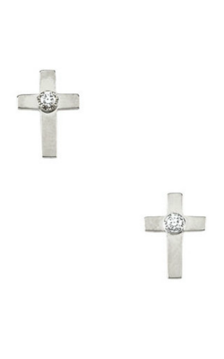 Fashion Jewelry By Mastercraft Religious And Symbolic Earring R16553 product image