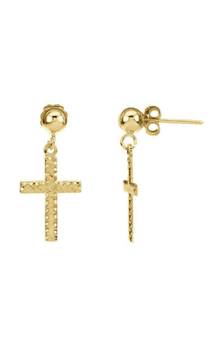 Fashion Jewelry By Mastercraft Religious And Symbolic Earring R16511 product image