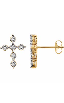 Stuller Religious and Symbolic Earring 651614 product image