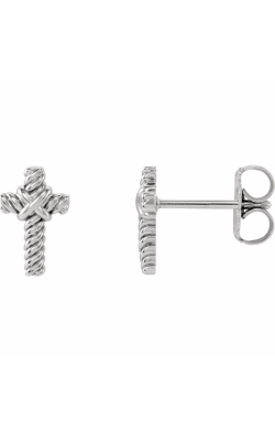 Stuller Religious and Symbolic Earring R17011 product image