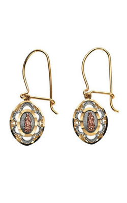 Fashion Jewelry By Mastercraft Religious And Symbolic Earring R16564 product image