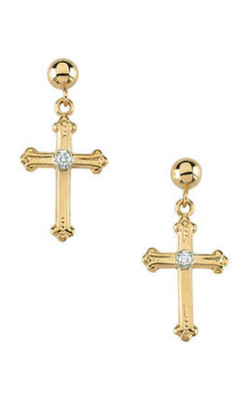 Stuller Religious and Symbolic Earring R16558 product image