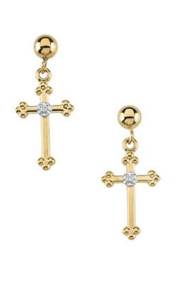 Stuller Religious and Symbolic Earring R16557 product image