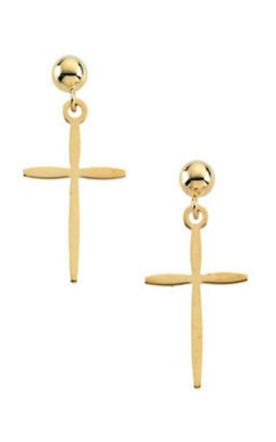 Fashion Jewelry By Mastercraft Religious And Symbolic Earring R16537 product image