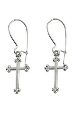 Fashion Jewelry By Mastercraft Religious And Symbolic Earring R16545 product image