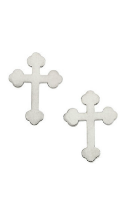 Fashion Jewelry By Mastercraft Religious And Symbolic Earring R16525 product image