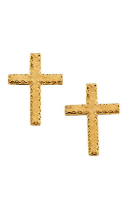 Fashion Jewelry By Mastercraft Religious And Symbolic Earring R16524 product image