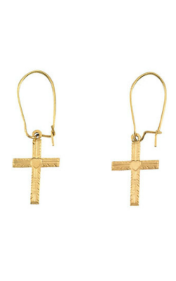 Fashion Jewelry By Mastercraft Religious And Symbolic Earring R16515 product image