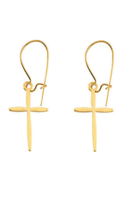 Fashion Jewelry By Mastercraft Religious And Symbolic Earring R16514 product image