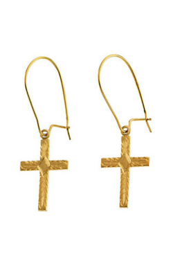 Fashion Jewelry By Mastercraft Religious And Symbolic Earring R16513 product image