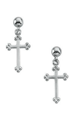Fashion Jewelry By Mastercraft Religious And Symbolic Earring R16523 product image