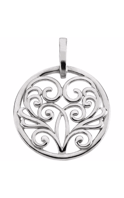 Stuller Metal Fashion Pendant 83651 product image