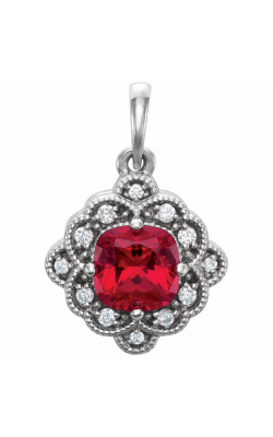 Princess Jewelers Collection Gemstone Necklace 86269 product image