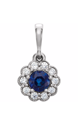 Princess Jewelers Collection Gemstone Necklace 86253 product image