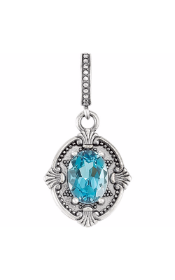 The Diamond Room Collection Gemstone Necklace 85241 product image