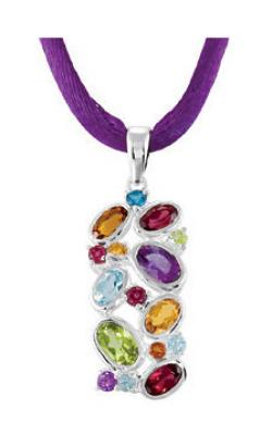 Fashion Jewelry By Mastercraft Gemstone Necklace 68023 product image