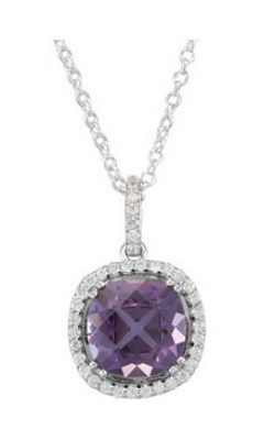 Princess Jewelers Collection Gemstone Necklace 67981 product image