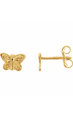 Fashion Jewelry By Mastercraft Youth Earring 19150 product image