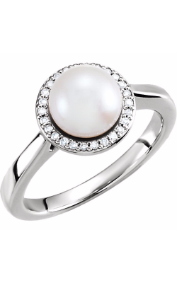 Fashion Jewelry By Mastercraft Pearl Fashion Ring 6471 product image