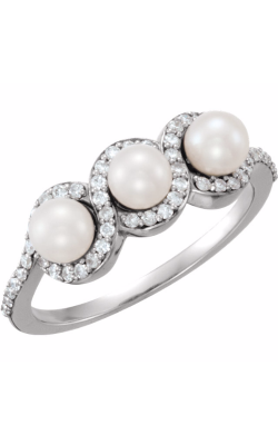 Stuller Pearl Fashion Ring 6477 product image