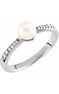 Fashion Jewelry By Mastercraft Pearl Fashion Ring 6472 product image