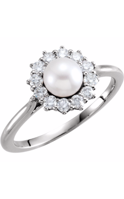 Fashion Jewelry By Mastercraft Pearl Fashion Ring 6476 product image