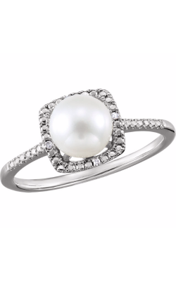 Fashion Jewelry By Mastercraft Pearl Fashion Ring 69940 product image