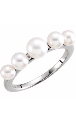 Fashion Jewelry By Mastercraft Pearl Fashion Ring 6475 product image