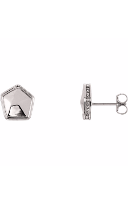 Stuller Metal Earrings 85886 product image