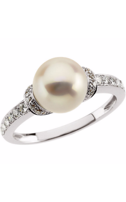 Fashion Jewelry By Mastercraft Pearl Fashion Ring 62792 product image