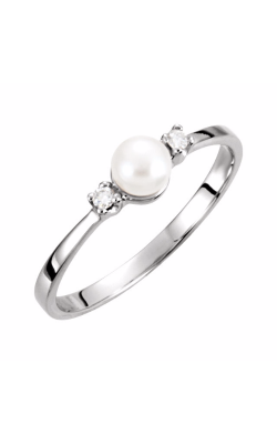 Fashion Jewelry By Mastercraft Pearl Fashion Ring 60626 product image