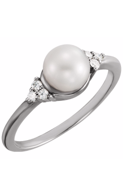 Fashion Jewelry By Mastercraft Pearl Fashion Ring 67462 product image