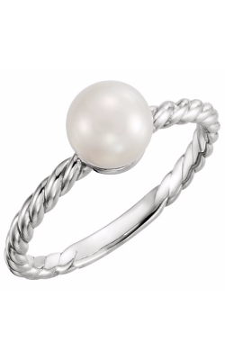 Fashion Jewelry By Mastercraft Pearl Fashion Ring 6468 product image