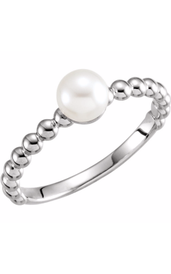 Fashion Jewelry By Mastercraft Pearl Fashion Ring 6469 product image