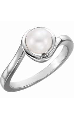 Fashion Jewelry By Mastercraft Pearl Fashion Ring 6481 product image