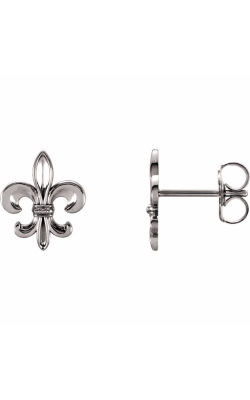 Fashion Jewelry By Mastercraft Metal Earring 86109 product image