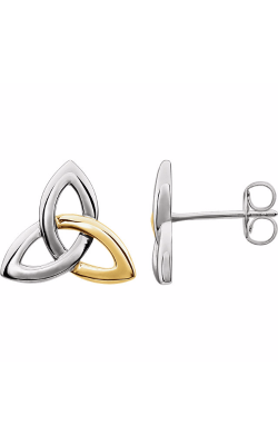 Fashion Jewelry By Mastercraft Metal Earring 86056 product image