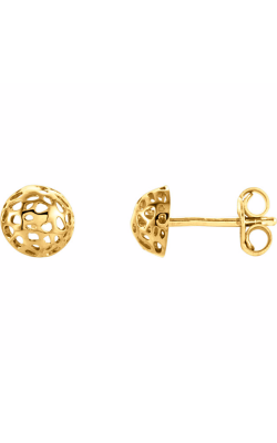 Fashion Jewelry By Mastercraft Metal Earring 85984 product image